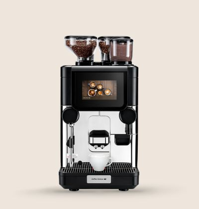 Front view of the Kaffee Partner Ultima Uno