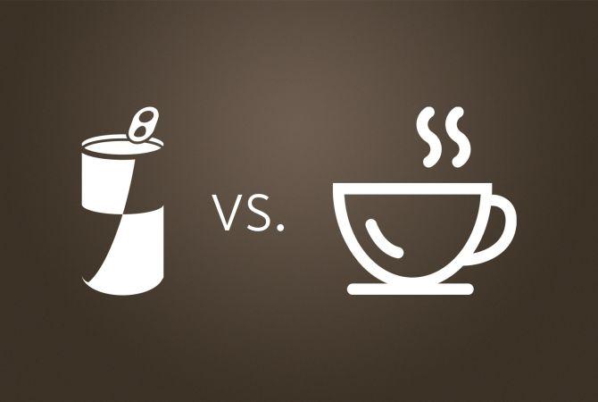 Energy Drink Vs Kaffee Was Liefert Mehr Energie Kaffee Partner