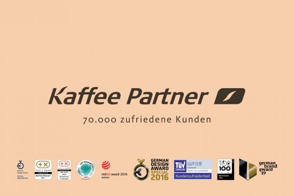 The Kaffee Partner Simple Show shows the advantages of Kaffee Partner